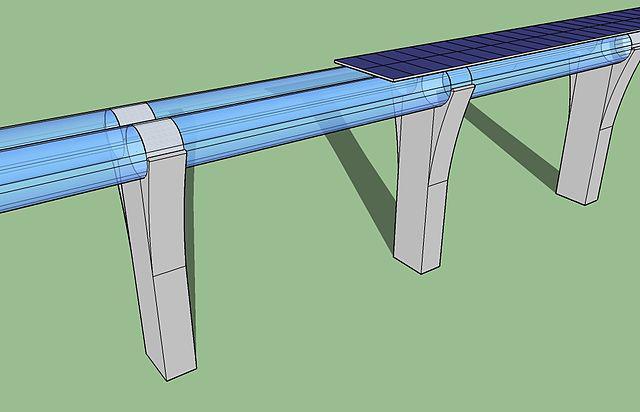 The Hyperloop High Speed Transportation System